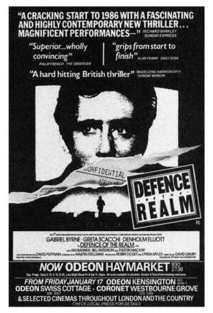 Defence of the Realm (Defense of the Realm) (1985)