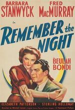 Remember the Night (1940)